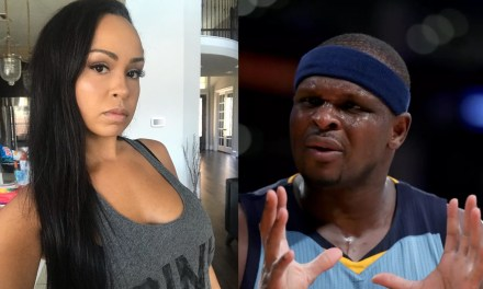Zach Randolph Spotted Hanging Out at Disney World with One of His Side Chicks