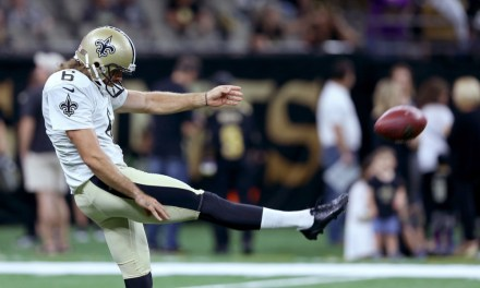 "Saints Punter Hit with ""Random"" Drug Tested after Posting a Workout Video"