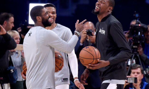 Jay Williams Says Kevin Durant and Kyrie Irving are More than Friends