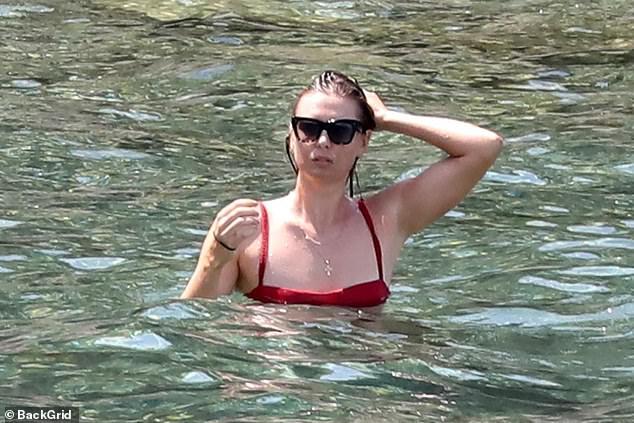 Maria Sharapova Hits the Beach After Wimbledon Exit