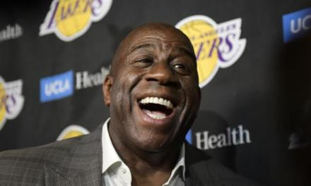 Magic Johnson Says the Lakers Are 'Almost Unbeatable' After Their Latest Signing
