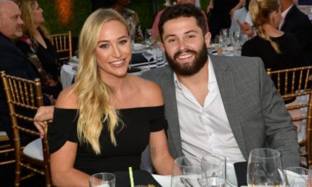 Baker Mayfield and His Wife Emily Wilkinson Handed Out Custom Nikes to Wedding Guests