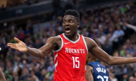 Rockets Clint Capela's Range Rover Was Vandalized Days After Playoff Loss