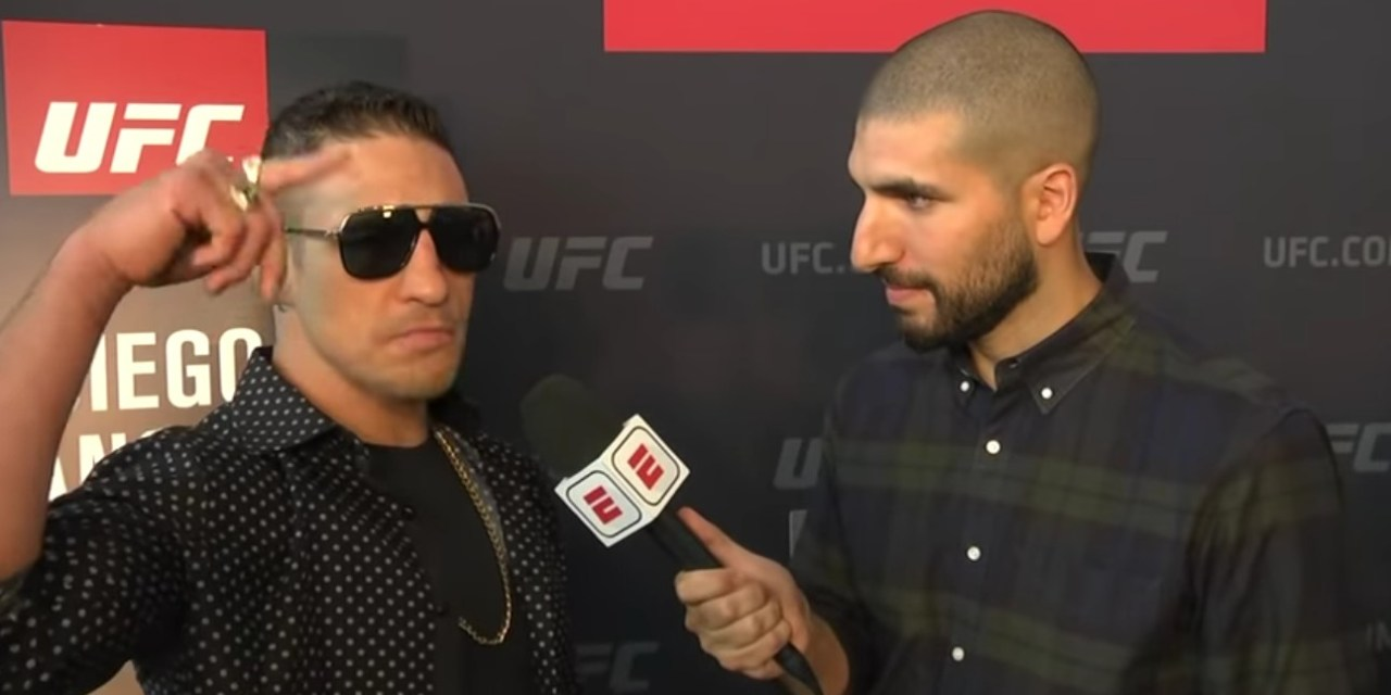 Diego Sanchez Delivers One of the Most Insane Interviews in History Ahead of UFC 239