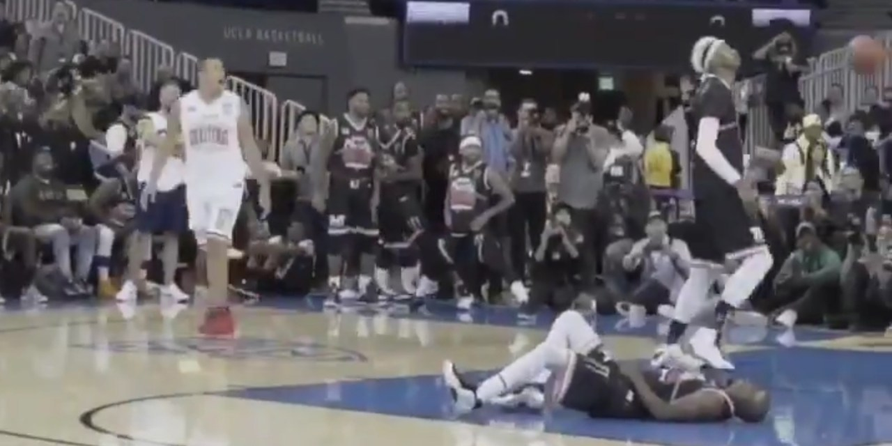 Floyd Mayweather Had His Ankles Broken With a Crossover at a Charity Basketball Game