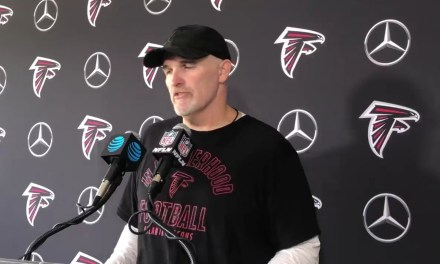 Dan Quinn Tries to Justify Having Former Maryland Head Coach D.J. Durkin Assist at Falcons Camp