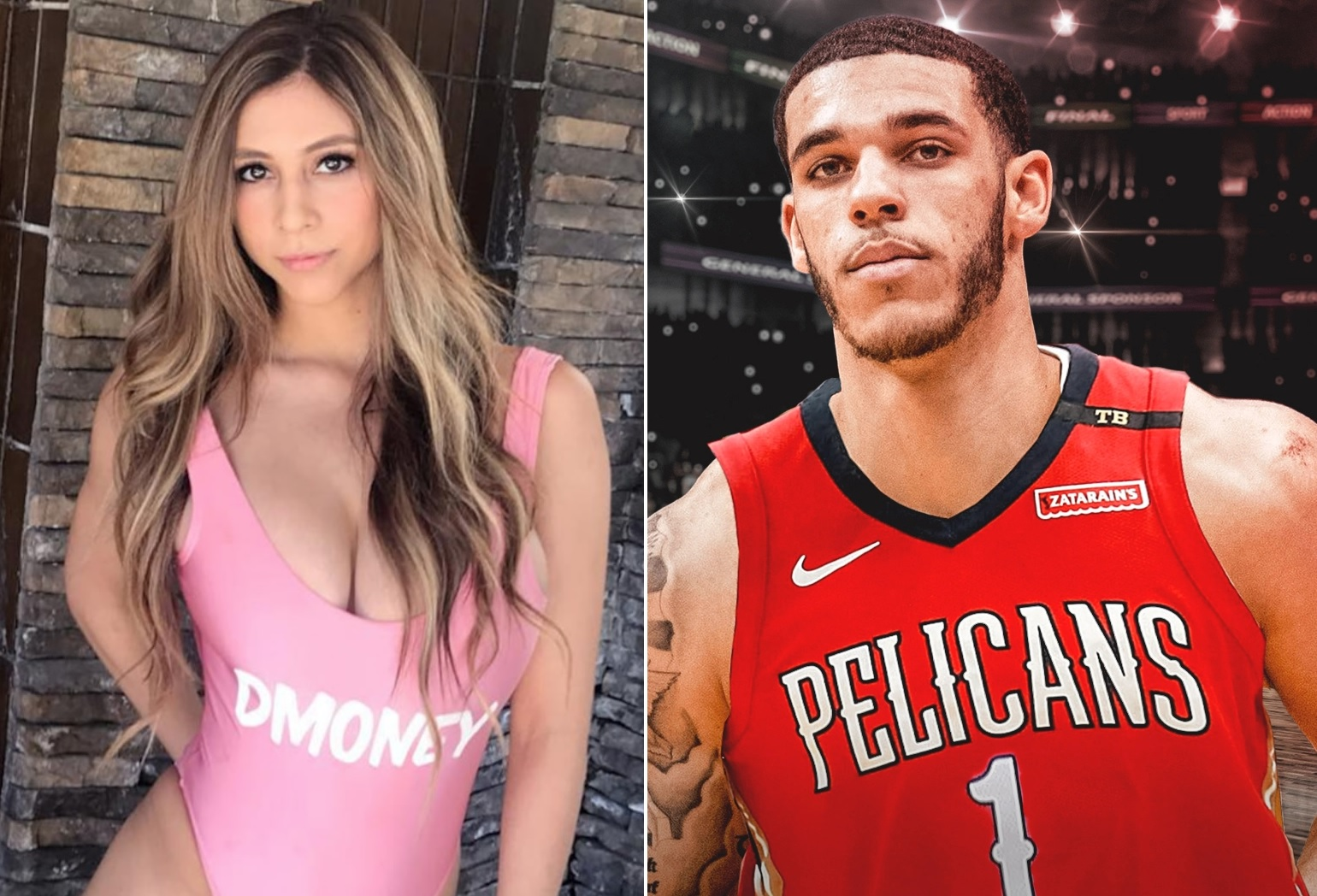 Lonzo Ball Comes To The Defense Of Baby Mama Denise Garcia Sports Gossip