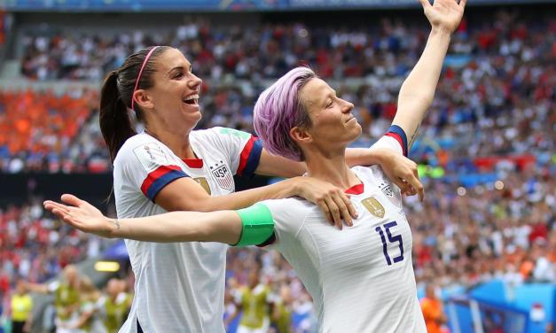 Alex Morgan and Megan Rapinoe Had A True 'White House Food Experience'