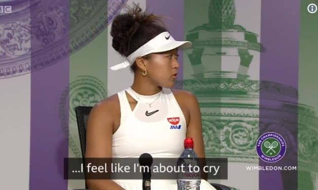 Naomi Osaka Overcome With Emotion Cuts News Conference Short after Wimbledon Upset