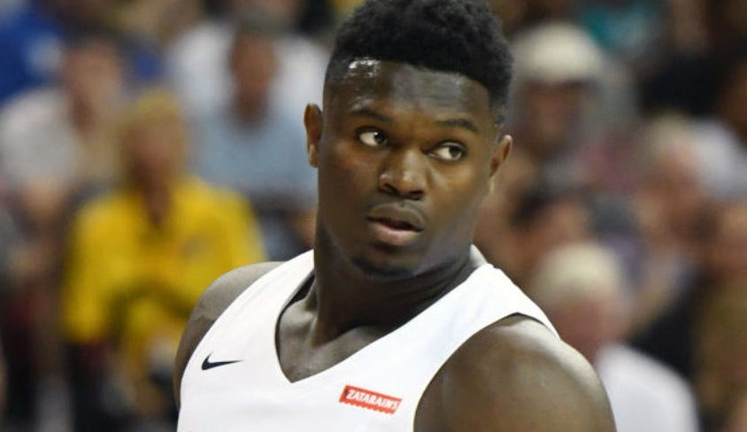 Zion Williamson Looking 'Out of Shape' Picture Goes Viral