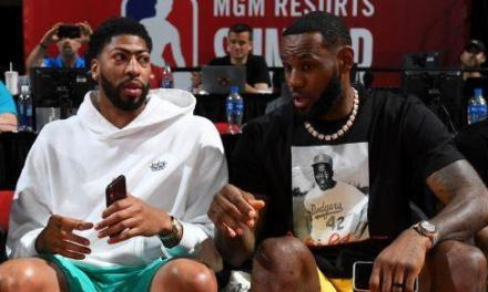 LeBron James and Anthony Davis Pay Respect to Jerry West after Kawhi Leonard Signing