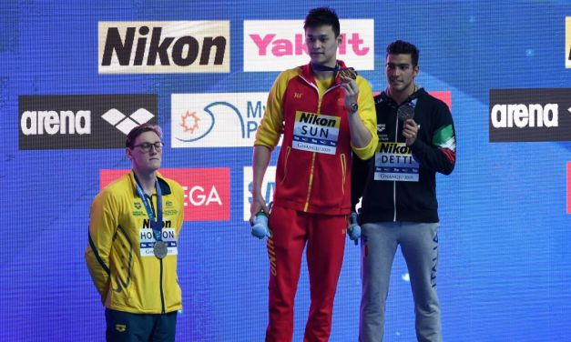 Swimmer Refuses to Share Podium With 'Drug Cheat'