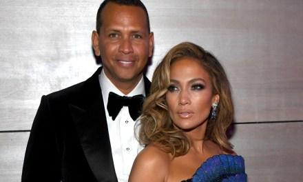 Jennifer Lopez Took Alex Rodriguez to a Strip Club