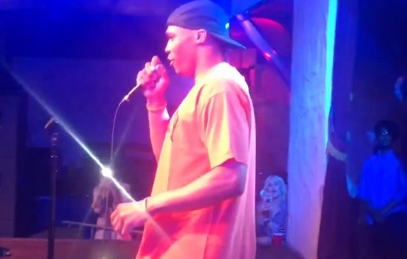 Russell Westbrook Thanks Fans at Comedy Show Following Rockets Trade