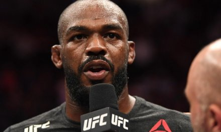 Jon Jones Needed Help Making it Back to the Locker Room After Successfully Defending His Light Heavyweight Title