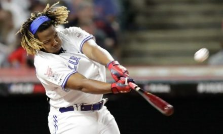 Vlad Guerrero Jr. Hit a Record 91 Home Runs During the HR Derby and Lost