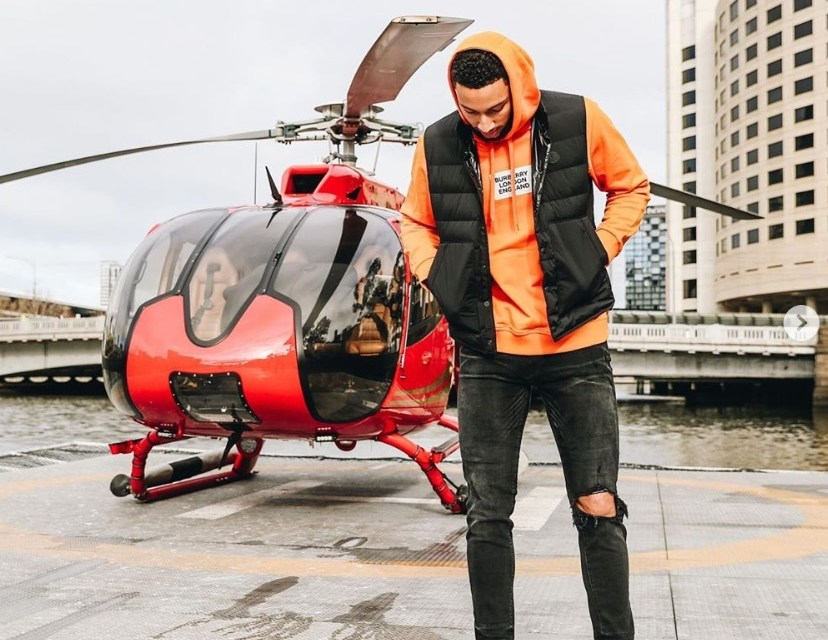 Ben Simmons is Seen Getting Off a Helicopter in Melbourne