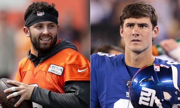 Baker Mayfield Calls Out Media for 'Clickbait' Daniel Jones Story; Daniel Jones Responds