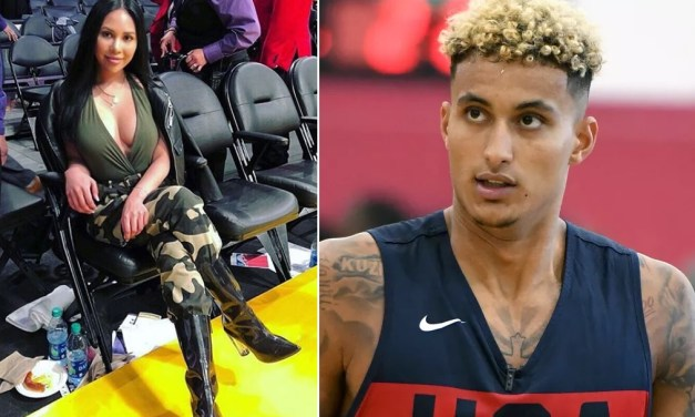 Kyle Kuzma Creepin in the Land Down Under While Playing For Team USA