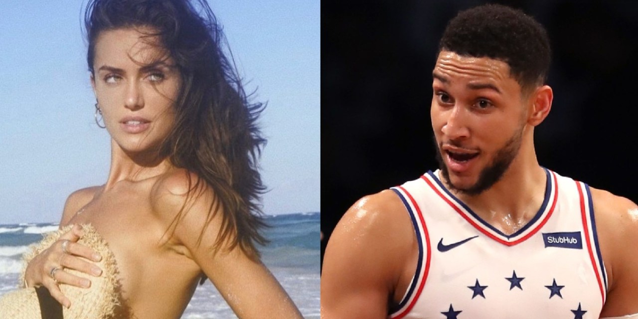 Ben Simmons Spotted at an AFL Game With Austrailian Model Talia Richman