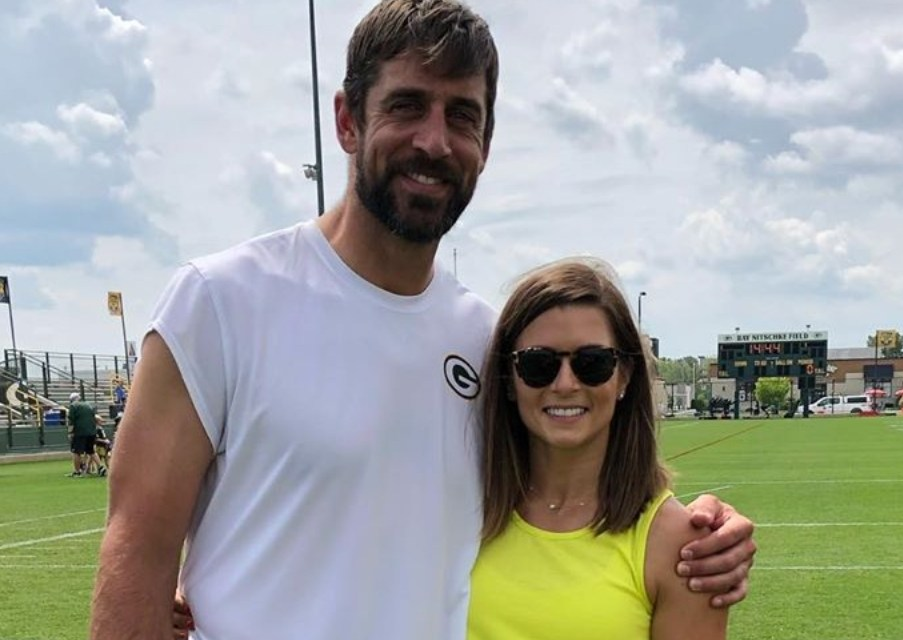 Danica Patrick Made an Appearace at Packers Training Camp