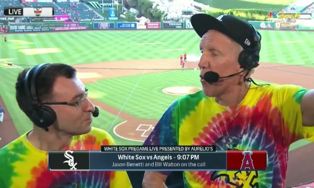 Bill Walton Called a Baseball Game and Did Not Disappoint
