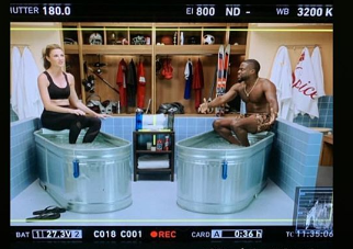 """Erin Andrews Shares a Behind the Scenes Look at Her Appearance on """"Cold as Balls"""""""