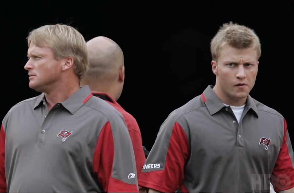Jon Gruden Talks About A 22 Year Old Sean McVay on Hard Knocks