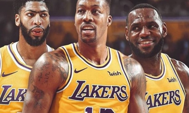 Dwight Howard Had A Very Emotional Meeting with LeBron James and Anthony Davis