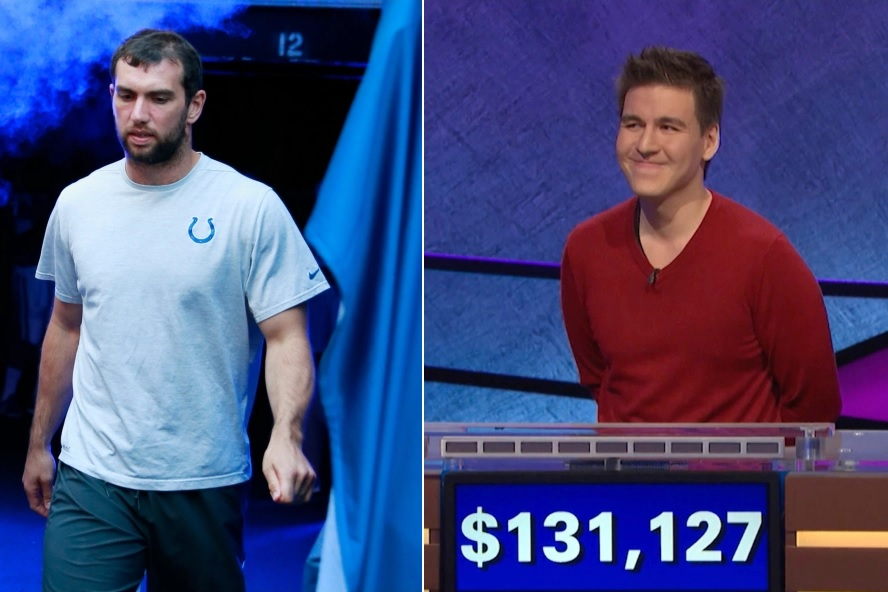 Jeopardy James' Tweet About Andrew Luck Has Everyone Calling 'Conspiracy'