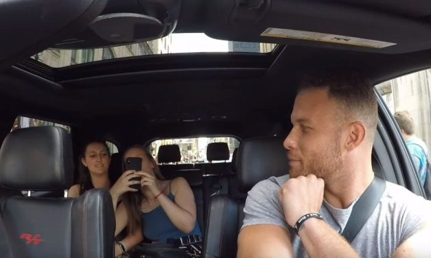Blake Griffin Goes Undercover As a Cab Driver
