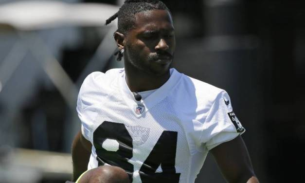 Antonio Brown is Seeing a Foot Specialist