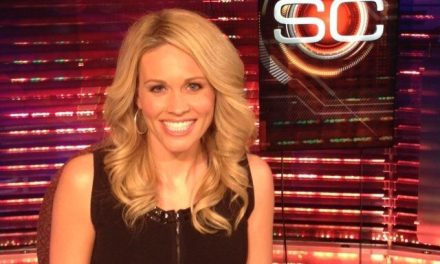 Former ESPN Anchor Showing Off At The Lake