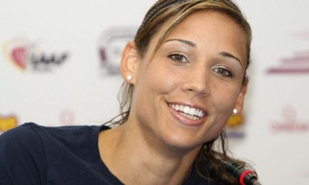 Lolo Jones Hit the Beach and Beats the 'Haters' to the Punch