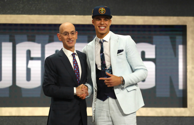 Michael Porter Jr. Posted Adam Silver's Number on Snapchat