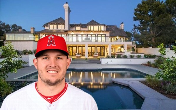 Mike Trout Nabs Newport Beach Home for $9.15 Million