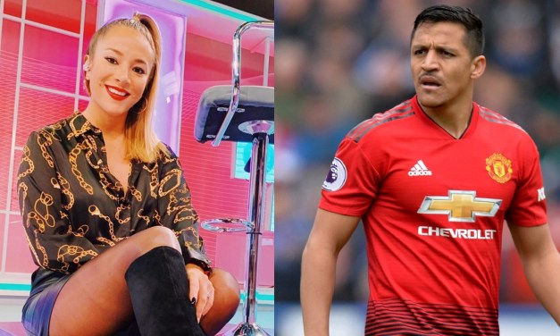 "Man U Soccer Player Gets Called Out by TV Host for ""Begging"" Her to Come to His House for a Hookup"