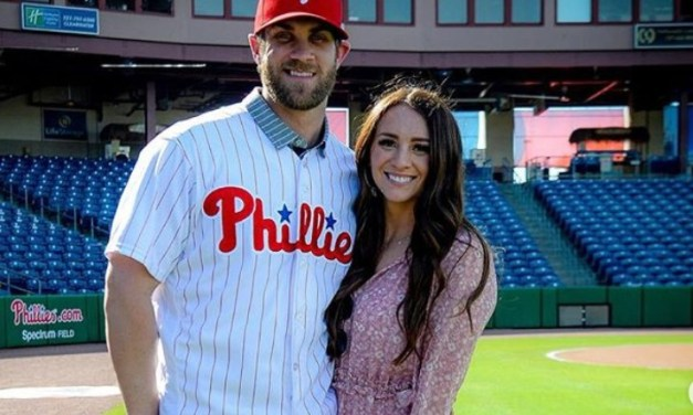 Bryce Harper's Wife Reacted to His Walk Off Grand Slam