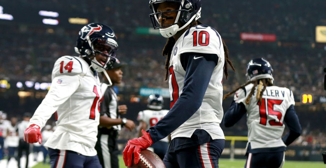DeAndre Hopkins Had this to Say About Getting Flagged for His Suplex Tackle