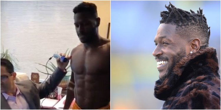 Antonio Brown Posted his Text Conversation with his Doctor About the Fart Incident