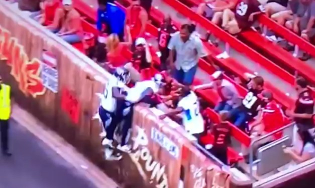 Titans CB Logan Ryan Upset That a Browns Fan Poured Beer on Him