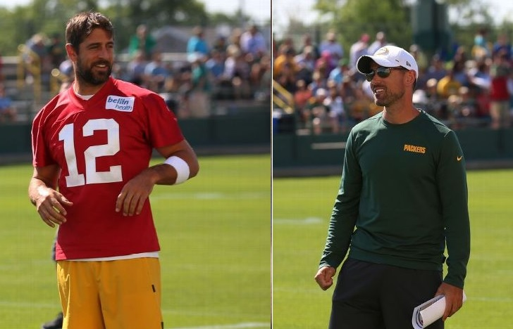 Aaron Rodgers Spotted Yelling at Head Coach Matt LaFleur