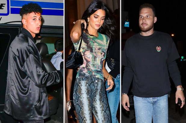 Kyle Kuzma and Blake Griffin Vying for Kendall Jenner's Attention