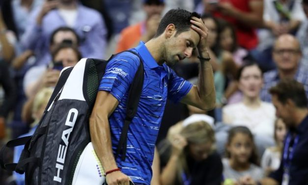 Fans Boo as Djokovic Retires from Open Match