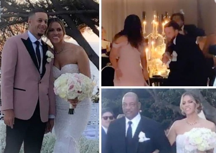 Seth Curry Married Doc Rivers Daughter Callie This Past Weekend Sports Gossip