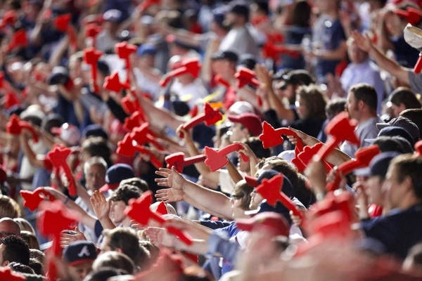 """Braves Remove Foam Tomahawks Prior to Game 5 and Plan to Alter Their """"Chop"""" Celebration"""
