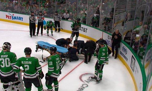 Bruins Announcer Under Fire for Calling Roman Polak's Injury 'Bad Hockey Karma'