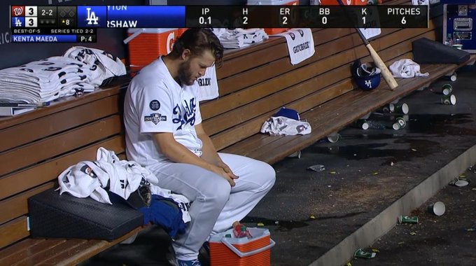 Clayton Kershaw Blew Game 5 for the Dodgers
