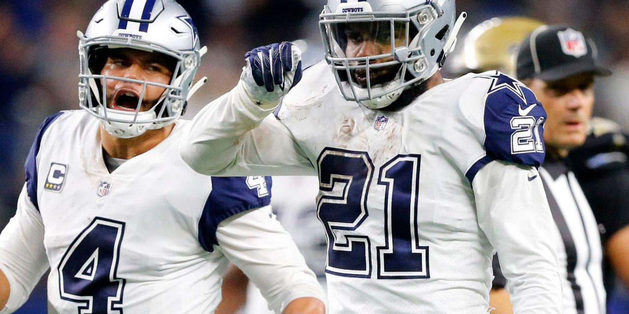 """Ezekiel Elliott Says Blowout Win Had Nothing to Do With Doug Pederson """"We Don't Give a F*ck"""" What He Says"""