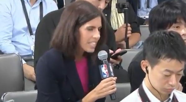 Reporter Shut Down by NBA for Asking Harden and Westbrook Question About China